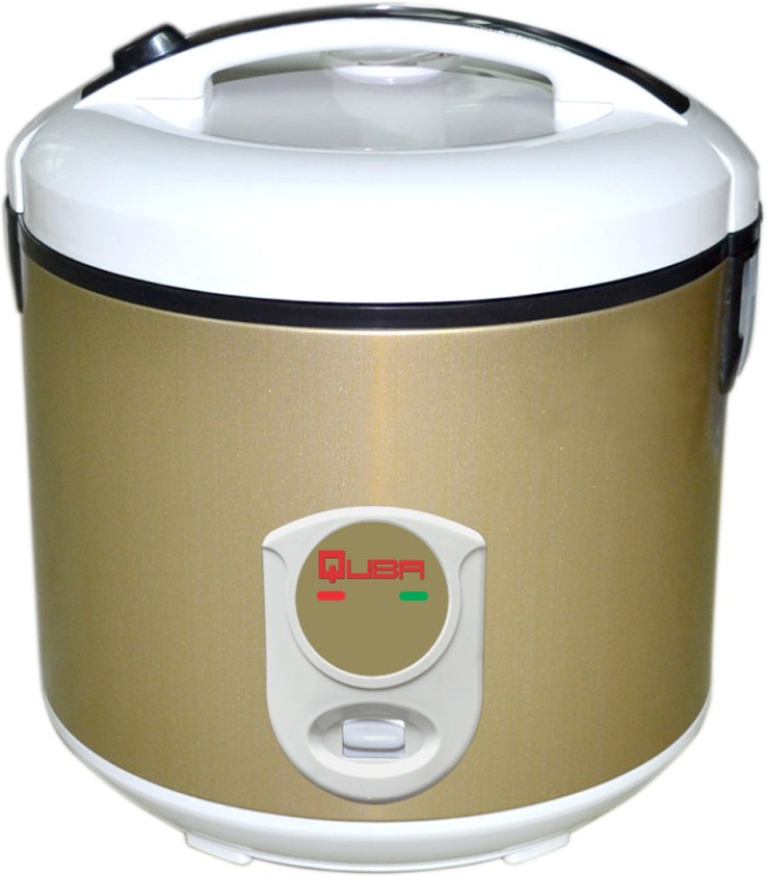 Quba R882 Electric Rice Cooker(2.8 L, Brown)