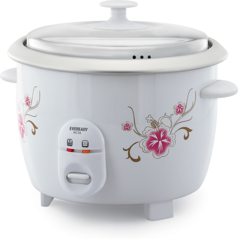 Eveready RC18 Electric Rice Cooker(1.8 L, White)