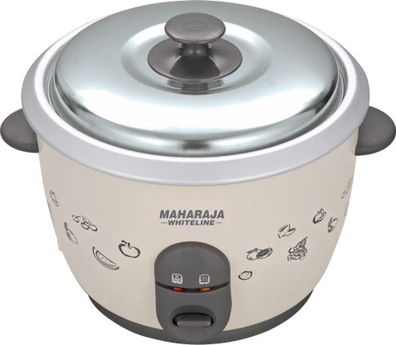 Maharaja Whiteline 180A Electric Rice Cooker(1.8 L)