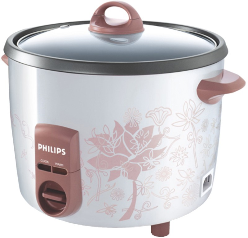 Philips HD4715/60 Electric Rice Cooker(1.8 L, White and brown)