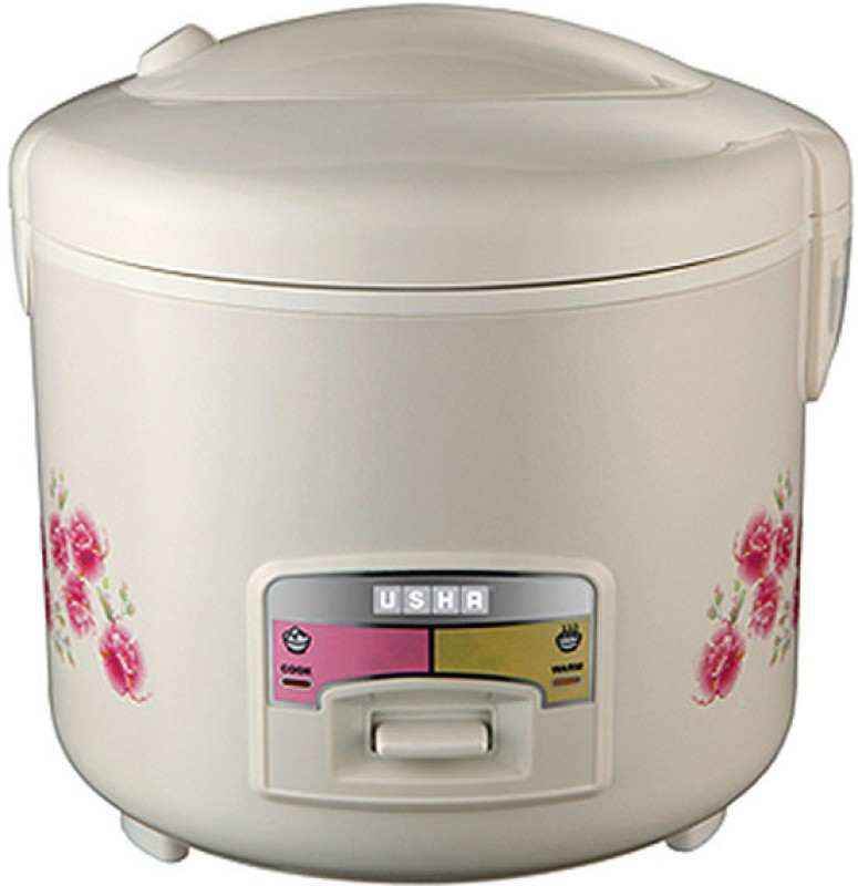 Usha MC 2827 Electric Rice Cooker(1.8 L, White)