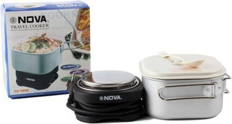 Nova TC-1550 Electric Rice Cooker(White)