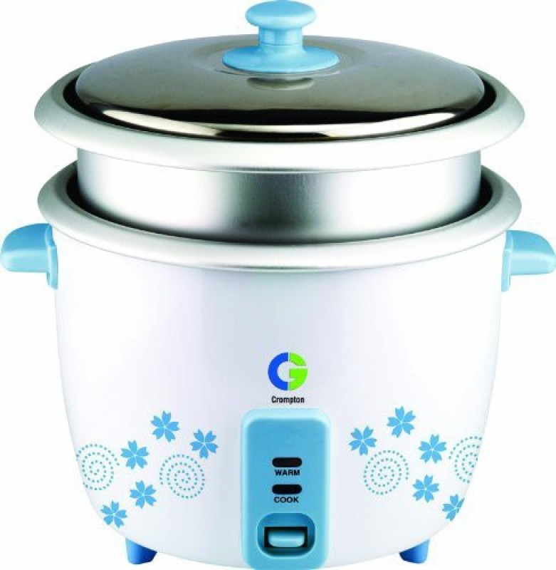 Crompton CG-MRC92 Electric Rice Cooker(1.8 L, White)
