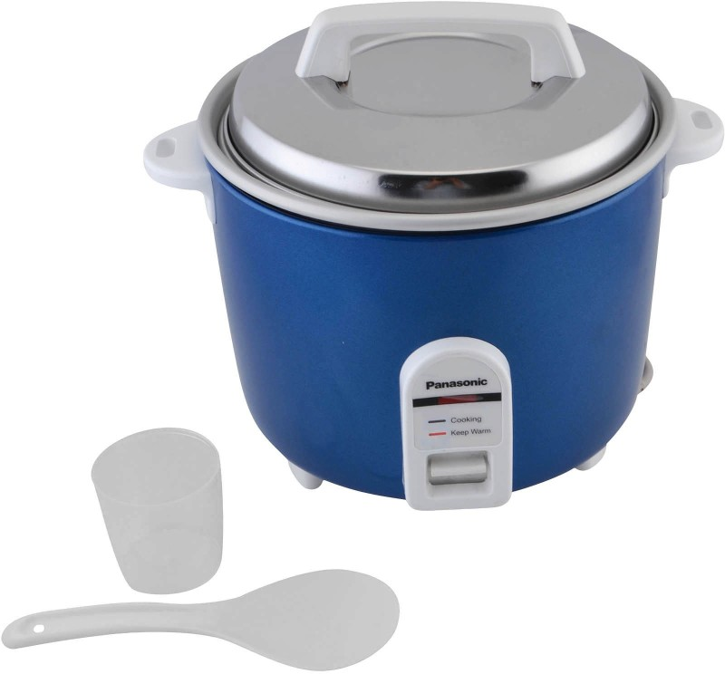 Panasonic SR-WA 18H(E) Electric Rice Cooker(1.8 L, Blue)