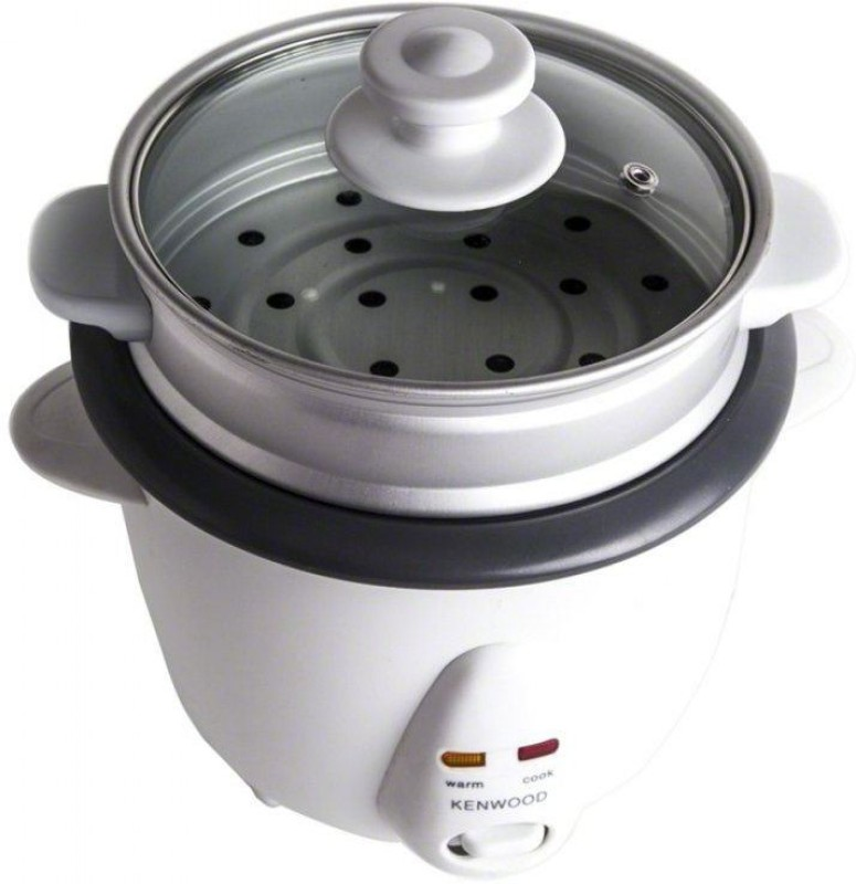 Kenwood RC240 O.6L Electric Rice Cooker with Steaming Feature(0.6 L, White)