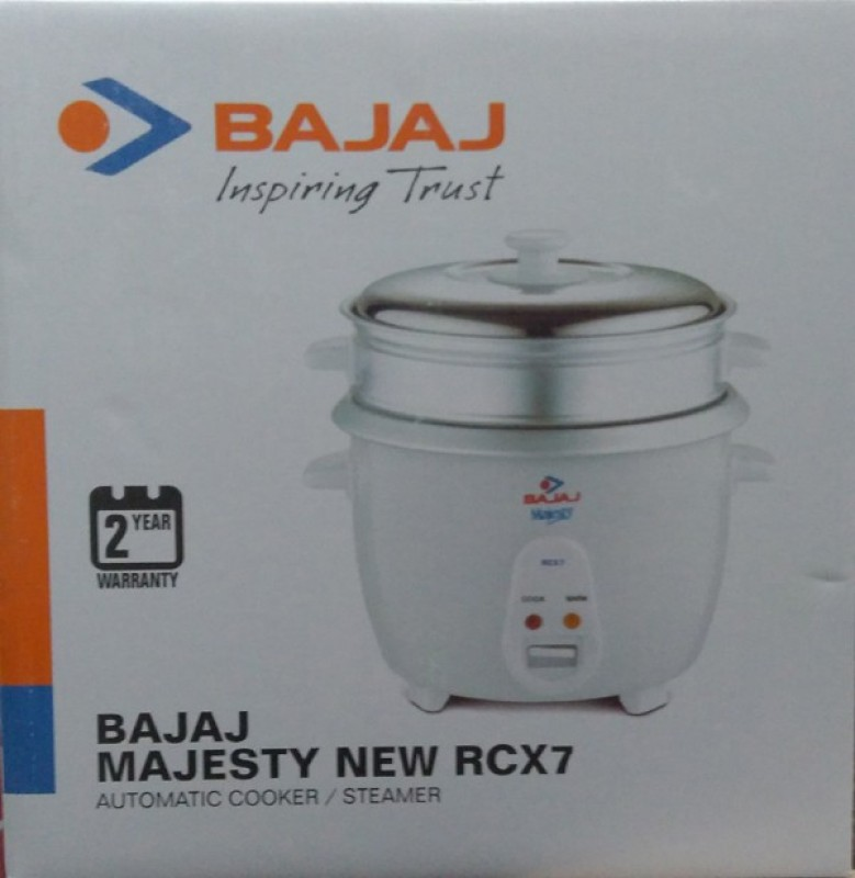 Bajaj Majesty New Rcx7 Multifunction / Steamer Electric Rice Cooker(1.8...