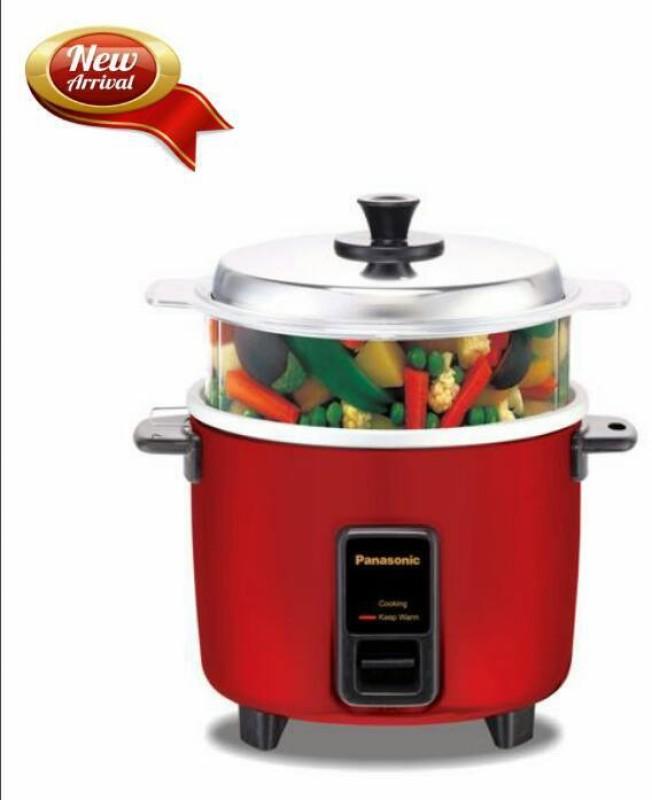 Panasonic SR-WA10HS Food Steamer, Rice Cooker(2.7 L, Burgundy)
