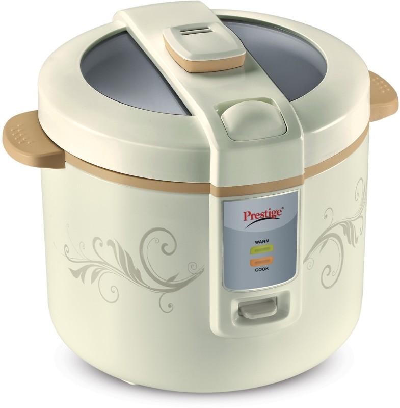 Prestige 41296 Electric Rice Cooker(1.8 L, White)