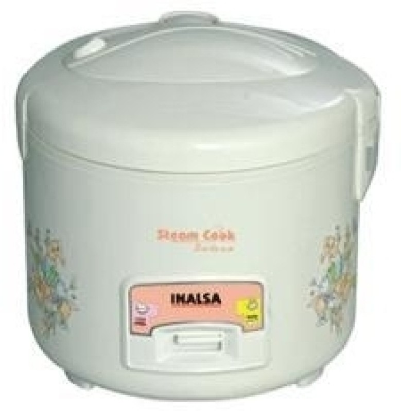 Inalsa Steam cook Dx Electric Rice Cooker with Steaming Feature(1.8 L)