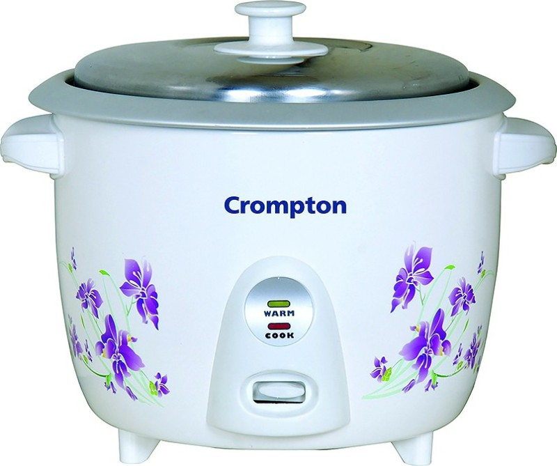 Crompton Greeves MRC61 Electric Rice Cooker(1.5 L, White)