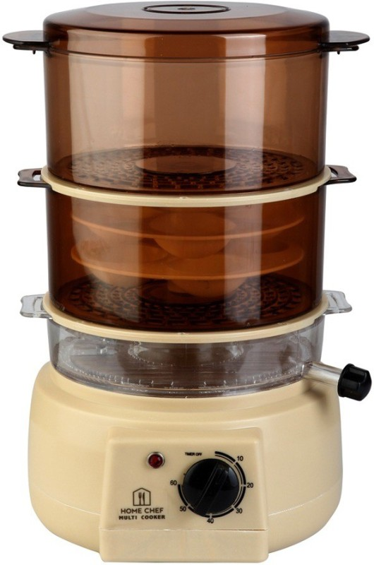 Home Chef HC-MSC Food Steamer(1.6 L, Multicolor)