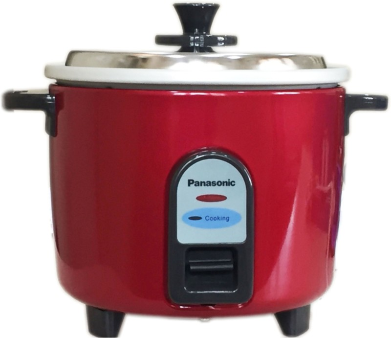 Panasonic SRWA10-GE9-BURGANDY Electric Rice Cooker(1 L, Burgandy)