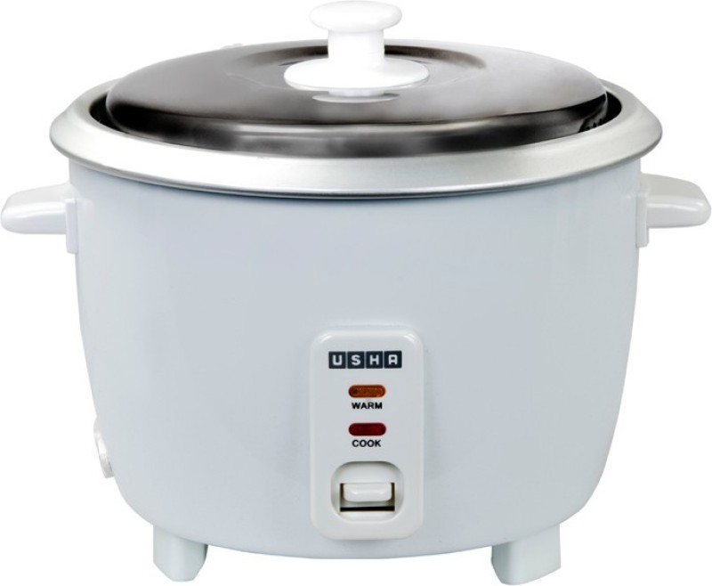 Usha mc2865 Electric Rice Cooker(1.8 L, White)