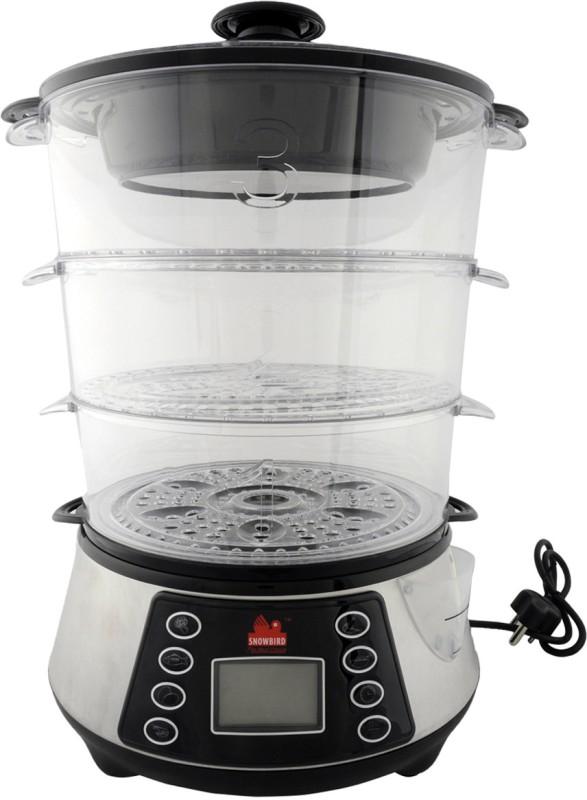 Snowbird SB-SC01 Food Steamer(11.5 L, Black)