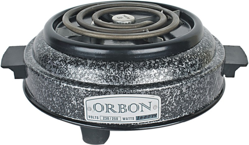 Orbon 1000 Watt G Coil Round Electric Cooking Heater(1 Burner)