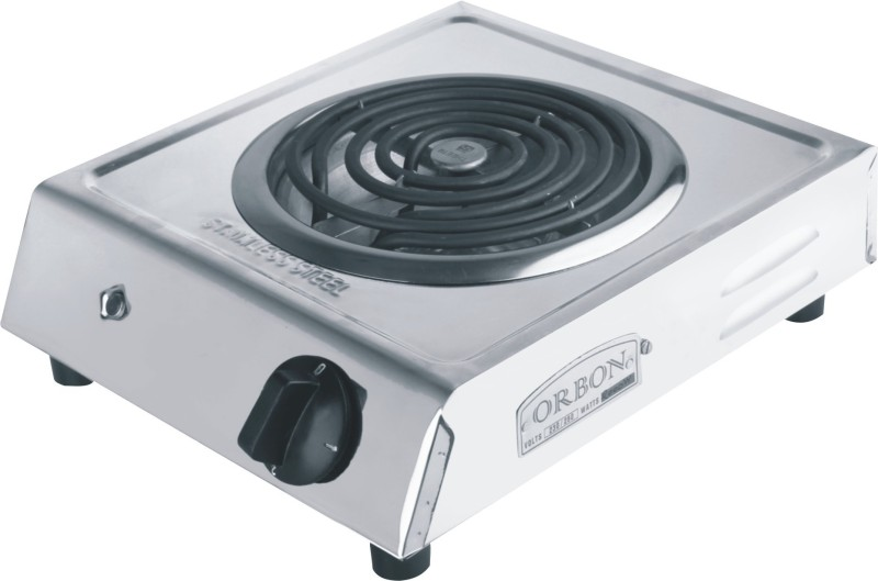 Orbon 2000 Watts Stainless Steel Electric Cooking Heater(1 Burner)