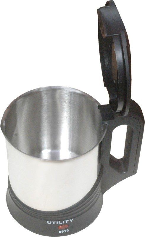 Utility CI-120 Electric Kettle(1.7 L, Silver, Black)