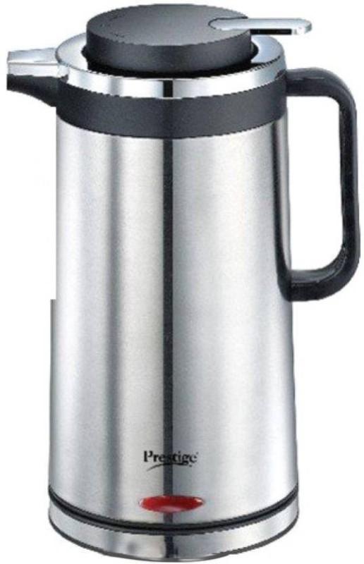 Prestige PKSF 1.7 Electric Kettle(1.7 L, Silver and Black)