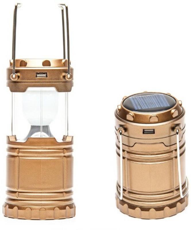 Dizionario Solar Camping Lights Portable Light Lamp Emergency Lantern Solar Lights(Brown)
