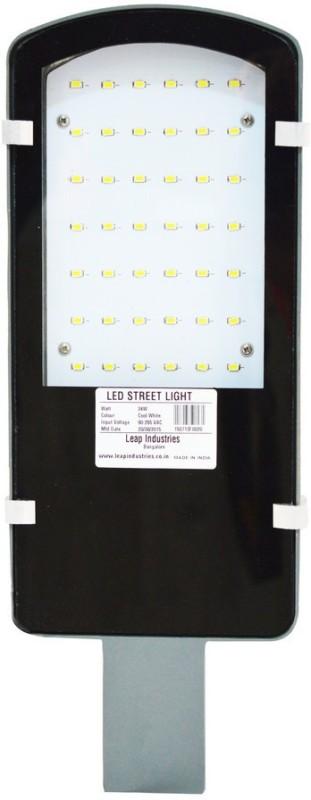 LEAP 18 Watt LED Street Light Emergency Lights(Grey)