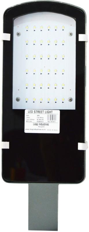 LEAP 30 Watt LED Street Light Emergency Lights(Grey)
