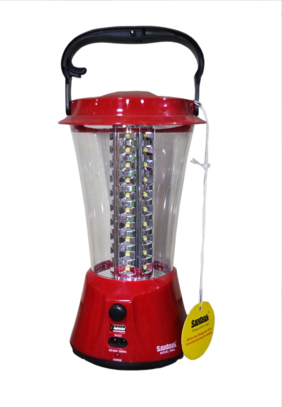 Santosh 1960L Lanterns Emergency Lights(Red, Black)