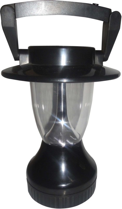 Rcube 12 LED Solar & Handcrack Lantern Emergency Lights(Black)