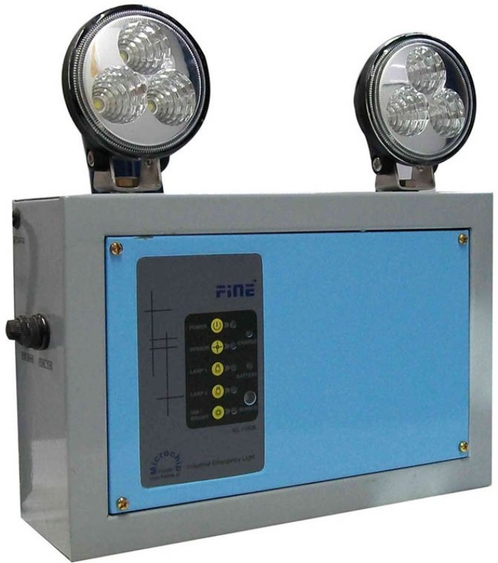 Fine IEMC18L Emergency Lights(Gray, Blue)