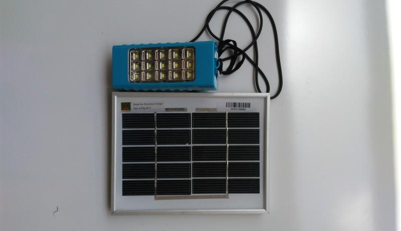 Ecotech Small Led Lantern Solar Lights(Blue)