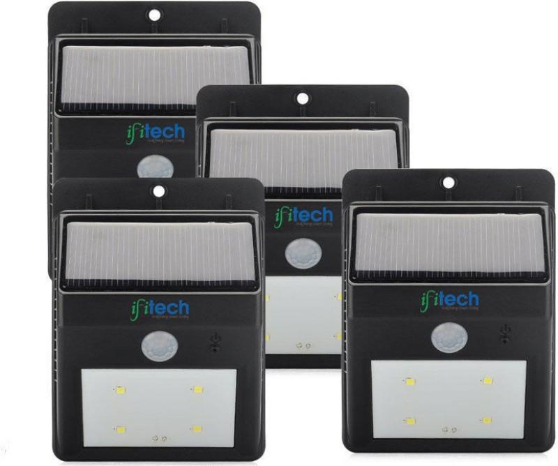 IFITech SLL301 Solar Lights(Black)