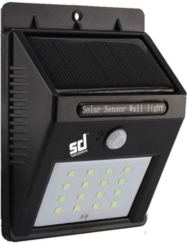 Smiledrive Outdoor Light Solar Lights(Black)