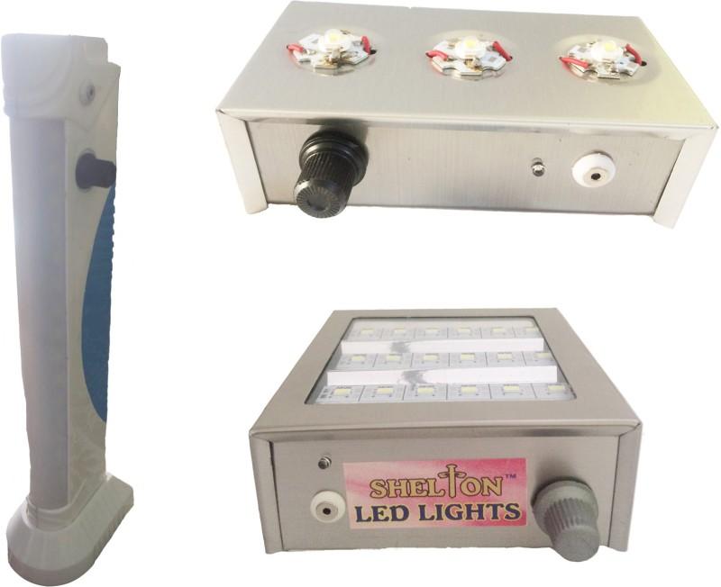 SHELTON 00016 Emergency Lights(Sliver, White)