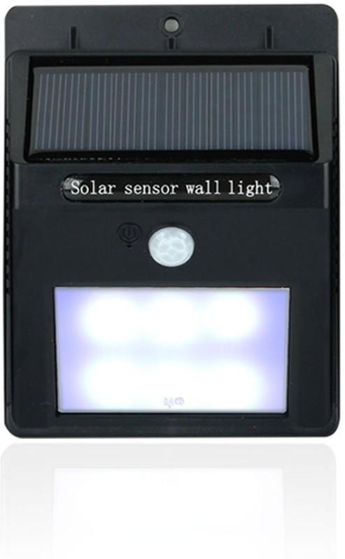 Quace 2nd Gen 6 LED Wireless Motion Sensor Solar Lights(Black)
