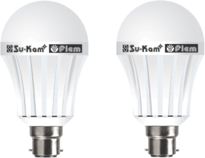 Su-Kam fiem Rechargeable Inverter LED Bulb. Emergency Lights(White)