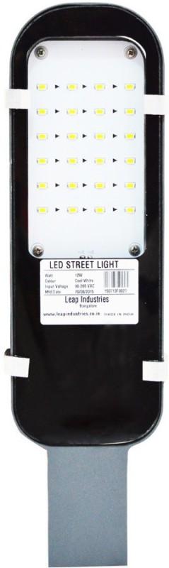 LEAP 12 Watt LED Street Light Emergency Lights(Grey)