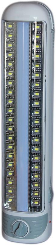 eSnap DP Rechargeable 4W 40 LED chip plus 6w 50LED tube Emergency Lights(White)