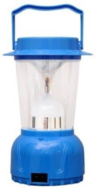JTSN 3350 led Solar Rechargeable Camping Lantern Emergency Lights(Blue)
