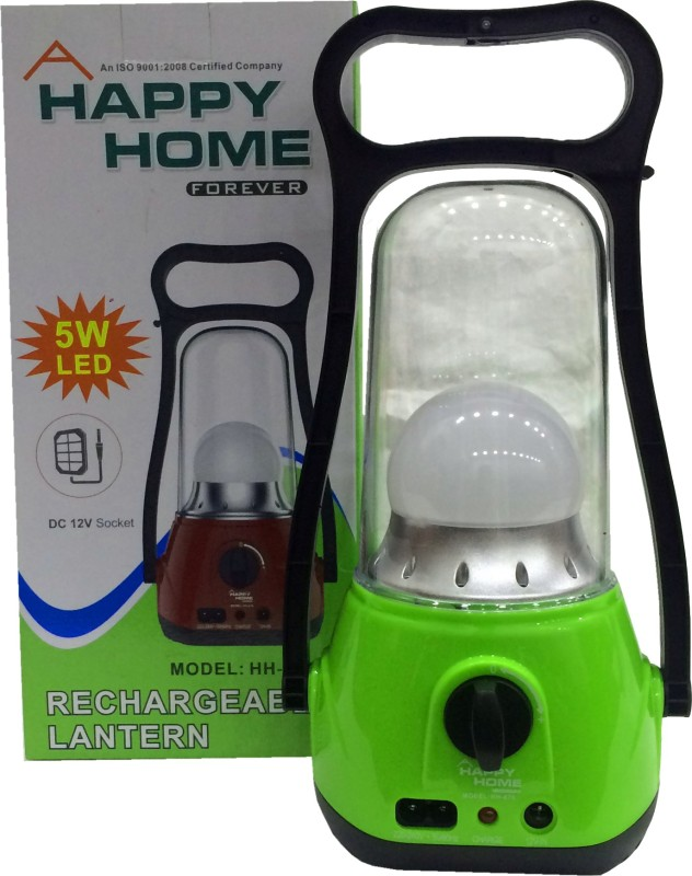 Happy Home HH-678 Emergency Lights(Green, Black)