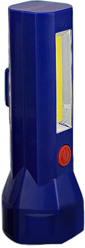 Shadowfax Hexa Plastic Torch Lamp with Magnetic Base Emergency Lights(Blue)