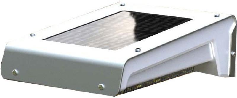 Quace 2nd Gen Brighter 16 Motion Sensor Garden Outdoor Waterproof Light Solar Lights(Silver)