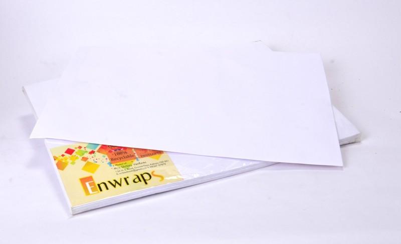 Enwraps Premium 90GSM 14 x 10(inch) Envelopes(Pack of 25 White)