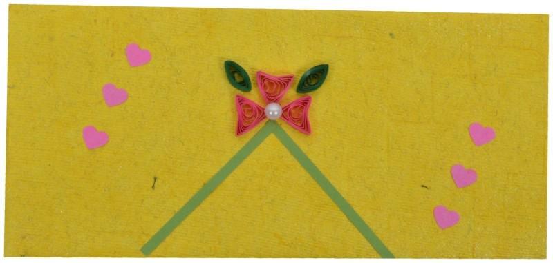 RMantra Designer Quilled Wedding Envelopes(Pack of 5 Multicolor)