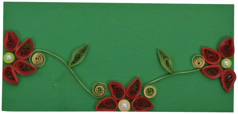 RMantra Designer Quilled Gift Envelopes(Pack of 5 Multicolor)