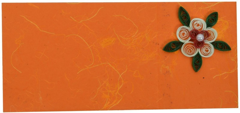 RMantra Designer Quilled Shagun Envelopes(Pack of 5 Multicolor)