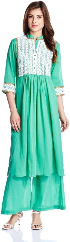 Atayant Women Kurta and Palazzo Set