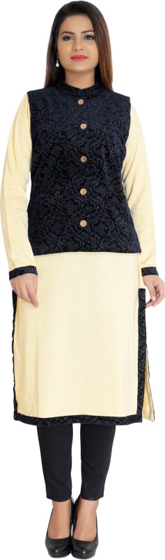 Anand Suit Collection Women Ethnic Jacket and Kurta Set