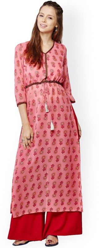 Global Desi Women Kurta and Palazzo Set