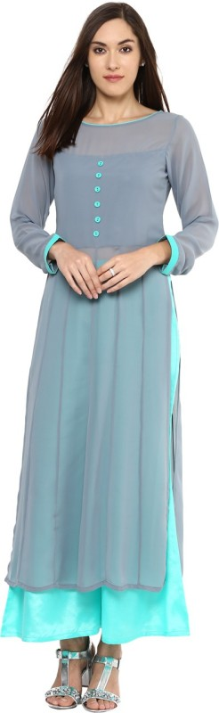 Libas Women Kurta and Palazzo Set