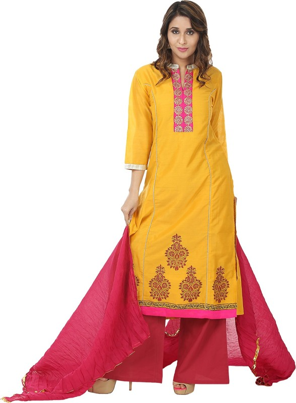 The Weave Women Kurta and Palazzo Set