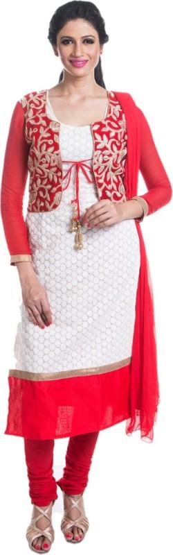 Cynthia's Fashion Women Ethnic Jacket, Kurta and Churidar/Legging Set